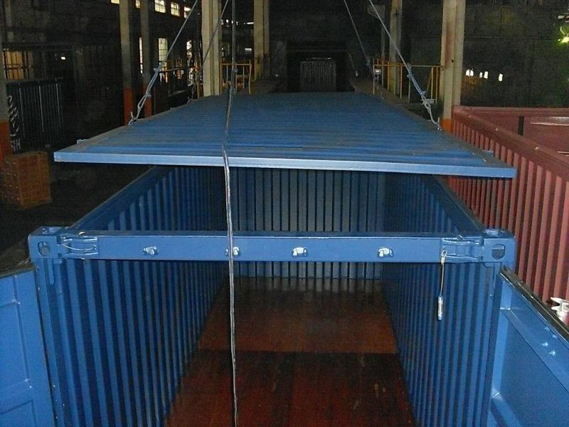 Ремонт крыши контейнера